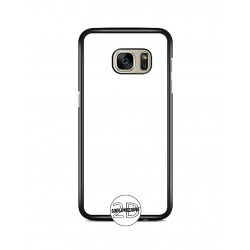 Cover 2D Galaxy S7 Edge - G935 - GOMMA NERO