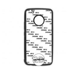 Cover 2D Motorola G5 Plus GOMMA